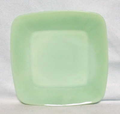 "Fireking Jadite Charm 8 3/8""Lunch Plate - Product Image"