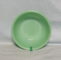 "Fireking Jadite Jane Ray 5 7/8""Cereal Bowl - Product Image"