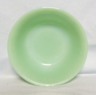 "Fireking Jadite Jane Ray 8 1/4""Serving Bowl - Product Image"