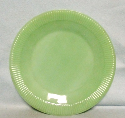 "Fireking Jadite Jane Ray 9 1/8""Dinner Plate - Product Image"