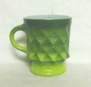 Fireking Kimberly Tu-Tone Green Coffee Mug - Product Image
