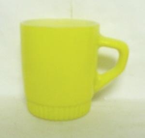Fireking Orange Stackable Mug w Ribbed Base - Product Image