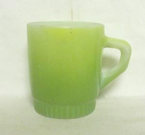 Fireking White Stackable Mug w Ribbed Base - Product Image