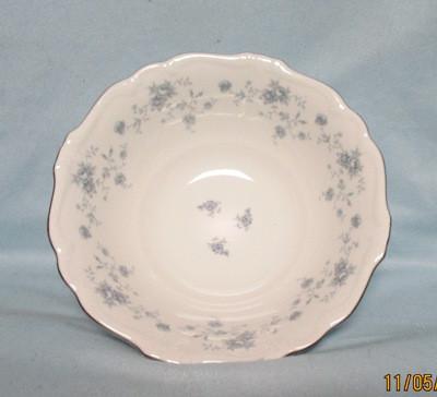 "John Haviland Blue Garland 8 1/2"" Serving Bowl - Product Image"