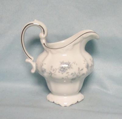 John Haviland Blue Garland Creamer - Product Image