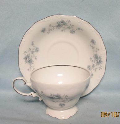 John Haviland Blue Garland Tea Cup & Saucer Set - Product Image