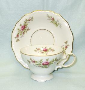 John Haviland Moss Rose Cup & Saucer Set - Product Image