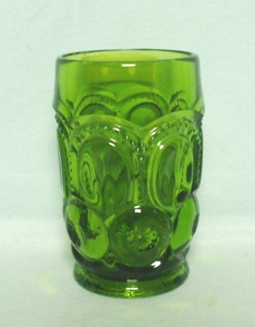 Moon & Star Antique Green 11 oz. Tumbler - Product Image