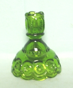 Moon & Star Antique Green #5231 Candleholder - Product Image