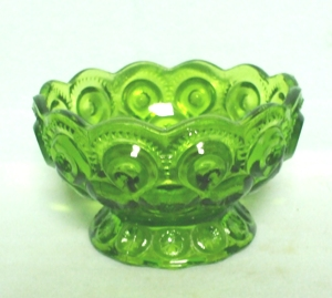 Moon & Star Antique Green Small Candy /no lid - Product Image
