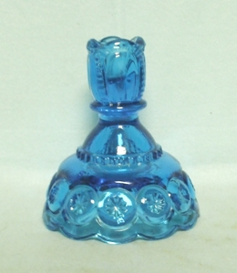 Moon & Star Colonial Blue #5231 Candleholder - Product Image