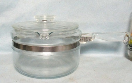 Pyrex Flameware 4 Cup #7754- Percolator Complete - Product Image