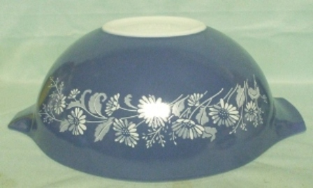 "Pyrex Misty Daisy Cinderella 10 1/2"" Mixing Bowl - Product Image"