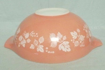 "Pyrex Pink Gooseberry Cinderella 10 1/2"" Pink Mixing Bowl - Product Image"