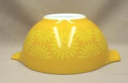 "Pyrex Sunflower Cinderella 10 1/2"" Mixing Bowl - Product Image"