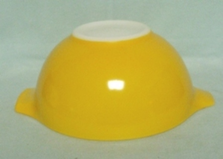 "Pyrex Town & Country Orange Cinderella 9"" Mixing Bowl - Product Image"