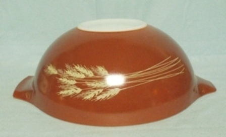 "Pyrex Wheat Cinderella 10 1/2"" Mixing Bowl - Product Image"