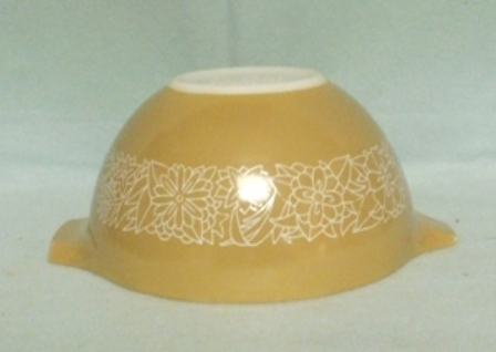 "Pyrex Woodland Light Brown Cinderella 6"" Mixing Bowl - Product Image"