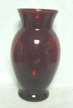 """Royal Ruby Coolidge 6 3/8"""" Vase - Product Image"""