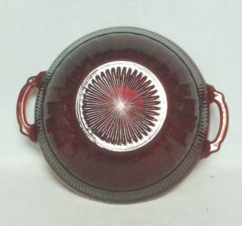 "Royal Ruby Coronation 6 1/2"" Nappy Bowl - Product Image"
