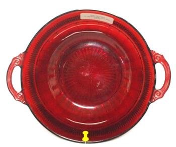 "Royal Ruby Coronation 8"" Berry Bowl - Product Image"