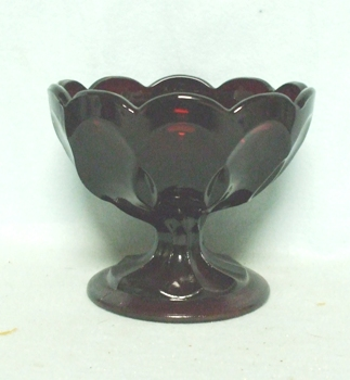 "Royal Ruby Fairfield 3 3/4"" Small Compote - Product Image"
