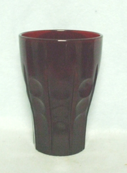 "Royal Ruby High Point Table Tumbler 4 1/4"" #R-1201 - Product Image"