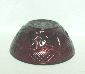 "Royal Ruby Patterned 5 1/2"" Bowl - Product Image"