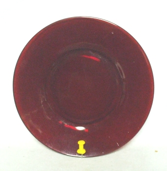"Royal Ruby R-1700 Round 6 1/4""Bread Plate - Product Image"