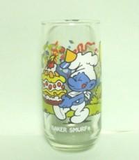 Smurf Cartoon Glasses