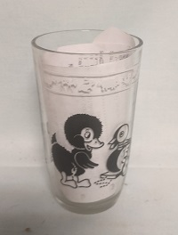 "Swanky Swig Black Duck & Horse Kiddie Cup 3 3/4"" Tall - Product Image"