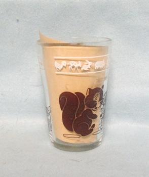 """Swanky Swig Brown Squirrel & Deer Kiddie Cup 3 1/4"""" Tall - Product Image"""