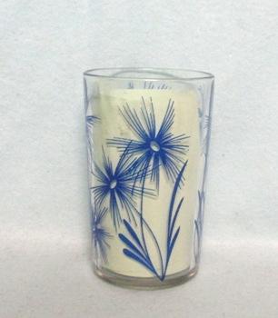 "Swanky Swig Dark Blue Cornflower No.2,- 3 1/2"" Tall - Product Image"
