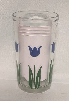 "Swanky Swig Dark Blue Tulip No.3,- 3 3/4"" Tall - Product Image"