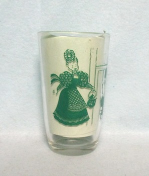 "Swanky Swig Green Bustling Betsy 3 3/4"" Tall - Product Image"