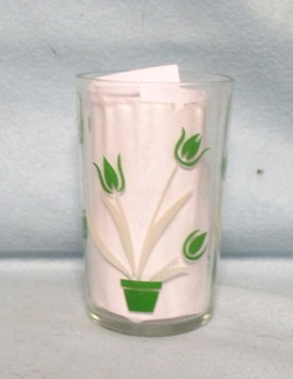 "Swanky Swig Green Tulip No.1,- 3 1/2"" Tall - Product Image"