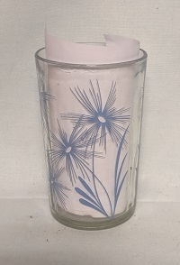 "Swanky Swig Light Blue Cornflower No.2,- 3 1/2"" Tall - Product Image"