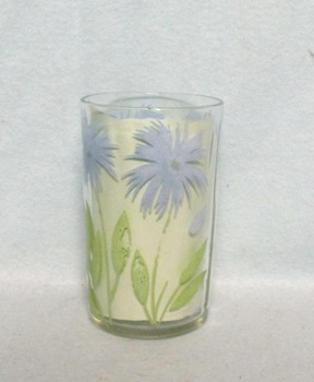 "Swanky Swig Light Blue Cornflower No.1,- 3 1/2"" Tall - Product Image"