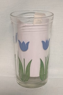 "Swanky Swig Light Blue Tulip No.3,- 3 3/4"" Tall - Product Image"