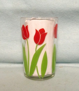 "Swanky Swig Posy Red Tulip 3 1/2"" Tall - Product Image"