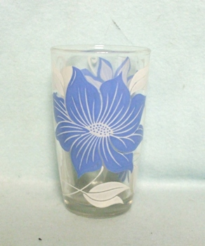 "Swanky Swig Rare Blue Poinsettia 3 3/4"" Tall - Product Image"