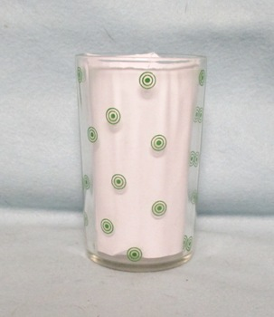 "Swanky Swig Rare Green Targets 3 1/2"" Tall - Product Image"