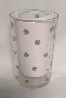 """Swanky Swig Rare Green Targets 3 1/2"""" Tall - Product Image"""