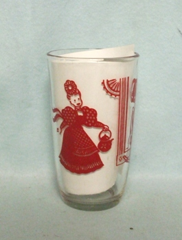 "Swanky Swig Red Bustling Betsy 3 1/2"" Tall - Product Image"