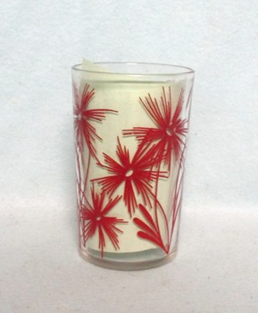 """Swanky Swig Red Cornflower No.2,- 3 1/2"""" Tall - Product Image"""