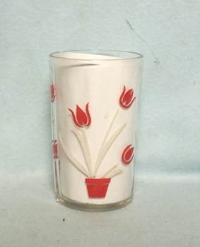 "Swanky Swig Red Tulip No.1,- 3 1/2"" Tall - Product Image"