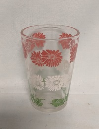 "Swanky Swig Red & White Daisy 3 1/4"" Tall - Product Image"