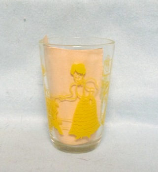 "Swanky Swig Yellow Bustling Betsy 3 1/4"" Tall - Product Image"