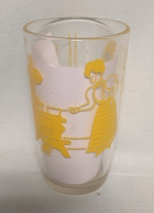 """Swanky Swig Yellow Bustling Betsy 3 1/4"""" Tall - Product Image"""
