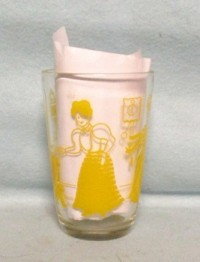 "Swanky Swig Yellow Bustling Betsy 3 3/4"" Tall - Product Image"